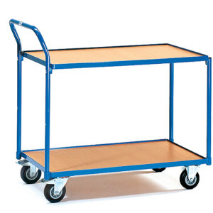 Tafelwagen en serveerwagen