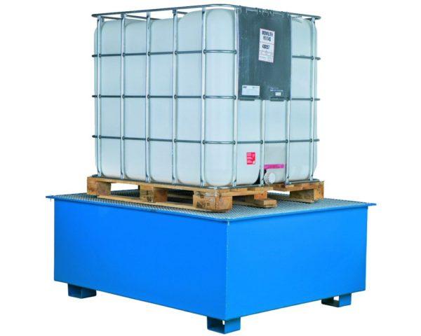 Opvangbak voor container